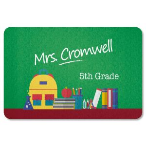 Personalized Classroom Doormat