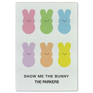 Show Me The Bunny Tempered Glass Cutting Board