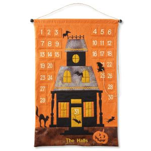 Personalized Halloween Countdown Calendar