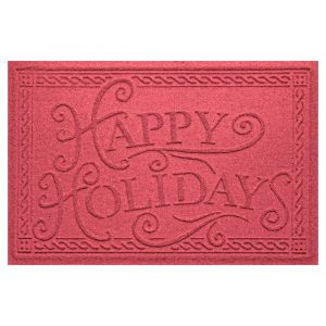 Happy Holidays Christmas Doormat