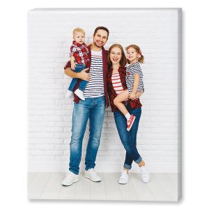 Portrait Canvas Photo Print