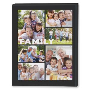 Family Collage Canvas Photo Print