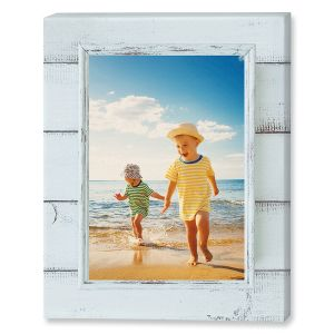 Shiplap Canvas Photo Print