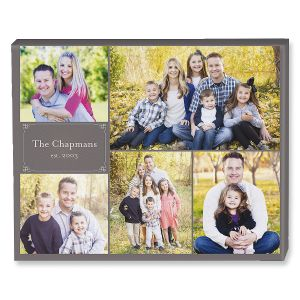 Established Collage Canvas Photo Print
