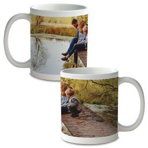 Panoramic Personalized Photo Mug