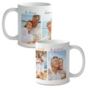 Be Brave Personalized Photo Mug