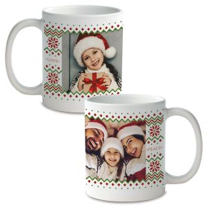 Sweater Personalized Photo Mug