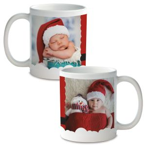 Santa Personalized Photo Mug