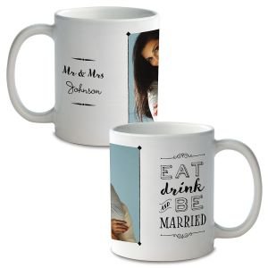 Be Married Personalized Photo Mug