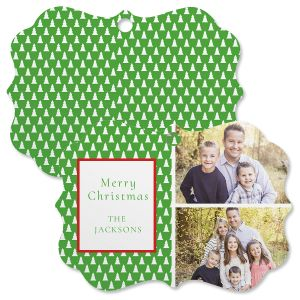Green Tree Photo Ornament - Bracket 2
