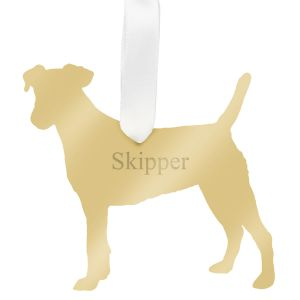 Personalized Acrylic Dog Ornament