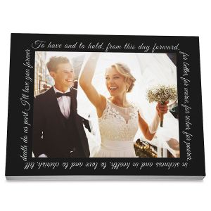 Wedding Personalized Photo Plaque