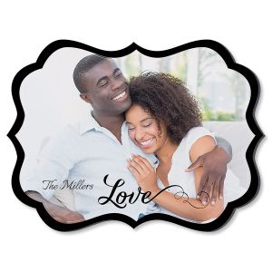Love Family Name Benelux Personalized Photo Plaque