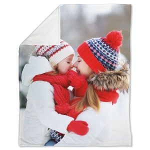 Fleece Full Personalized Photo Throw