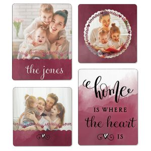 Watercolor Photo Magnets