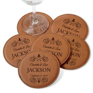 Personalized Established Coaster Set