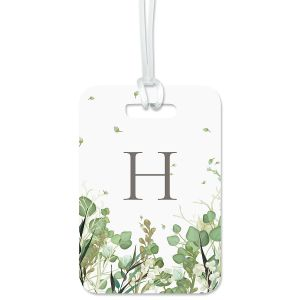 Leaves Personalized Luggage Tag