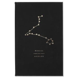 Pisces Zodiac Personalized Journal