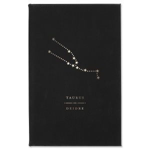 Taurus Zodiac Personalized Journal