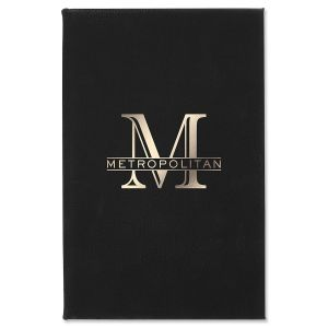 Personalized Initial Last Name Journal