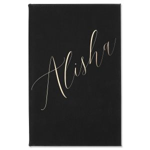 Personalized Name Journal