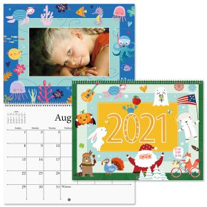 2021 Graphic Photo Insert Calendar