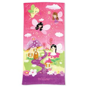 Personalized Fairy Towel