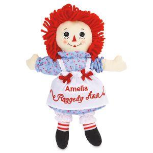 Raggedy Ann Personalized Doll