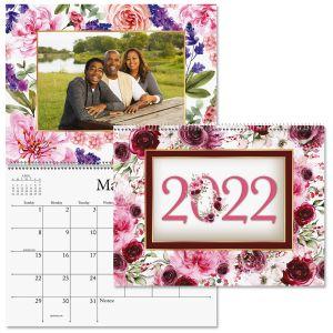 2022 Floral Photo Insert Calendar