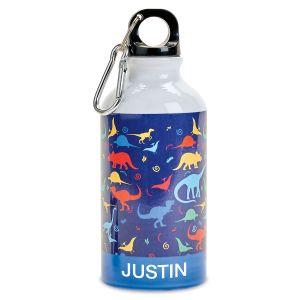 Dinosaur Personalized Water Bottle