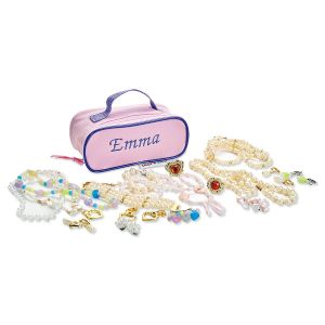 Kids Play Jewelry in Personalized Case