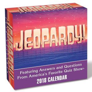 2018 Jeopardy Calendar