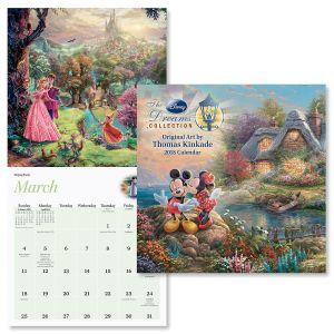 2018 Thomas Kinkade: The Disney® Dreams Collection Wall Calendar