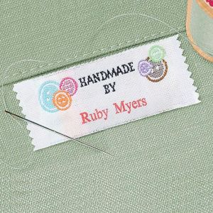 Handmade By Sewing Labels