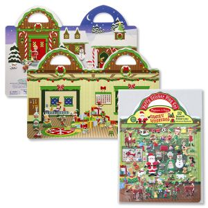 Melissa and Doug® Puffy Sticker Set - Santa's Workshop