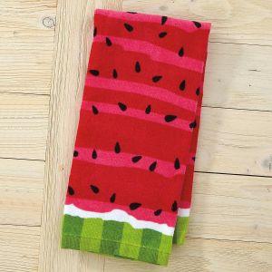 Stripes Watermelon Design Kitchen Towel