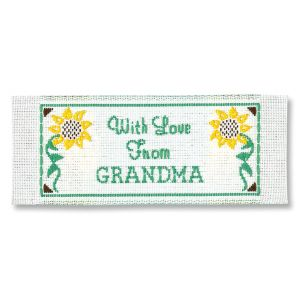 With Love Grandma Sewing Labels