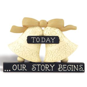 Figurine Bells—Today Our Story Begins