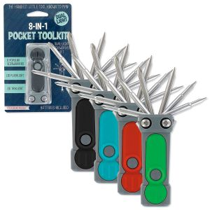 8 in 1 Pocket Tool Kit