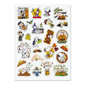 PEANUTS® Fall Stickers - BOGO