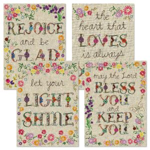 Expressions of Faith® Handstitched-Style Birthday Cards and Seals