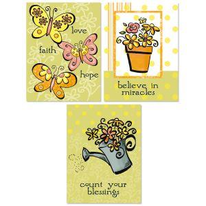 Faith Sentiments Note Cards