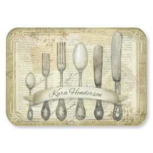 Silverware Glass Cutting Board
