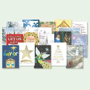 Faith Christmas Card Combo Packs