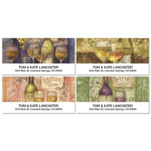 Wine Cellar Deluxe Address Labels  (4 designs)