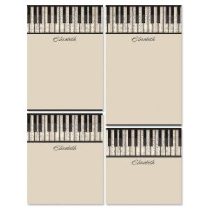 Keyboard Notepad Set