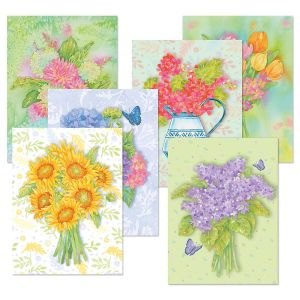 Perfect Petals Note Cards Value Pack