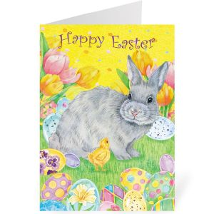 Garden Party Single Design Easter Cards
