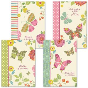 Butterfly Cheer Cards