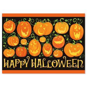 Pumpkins Halloween Cards